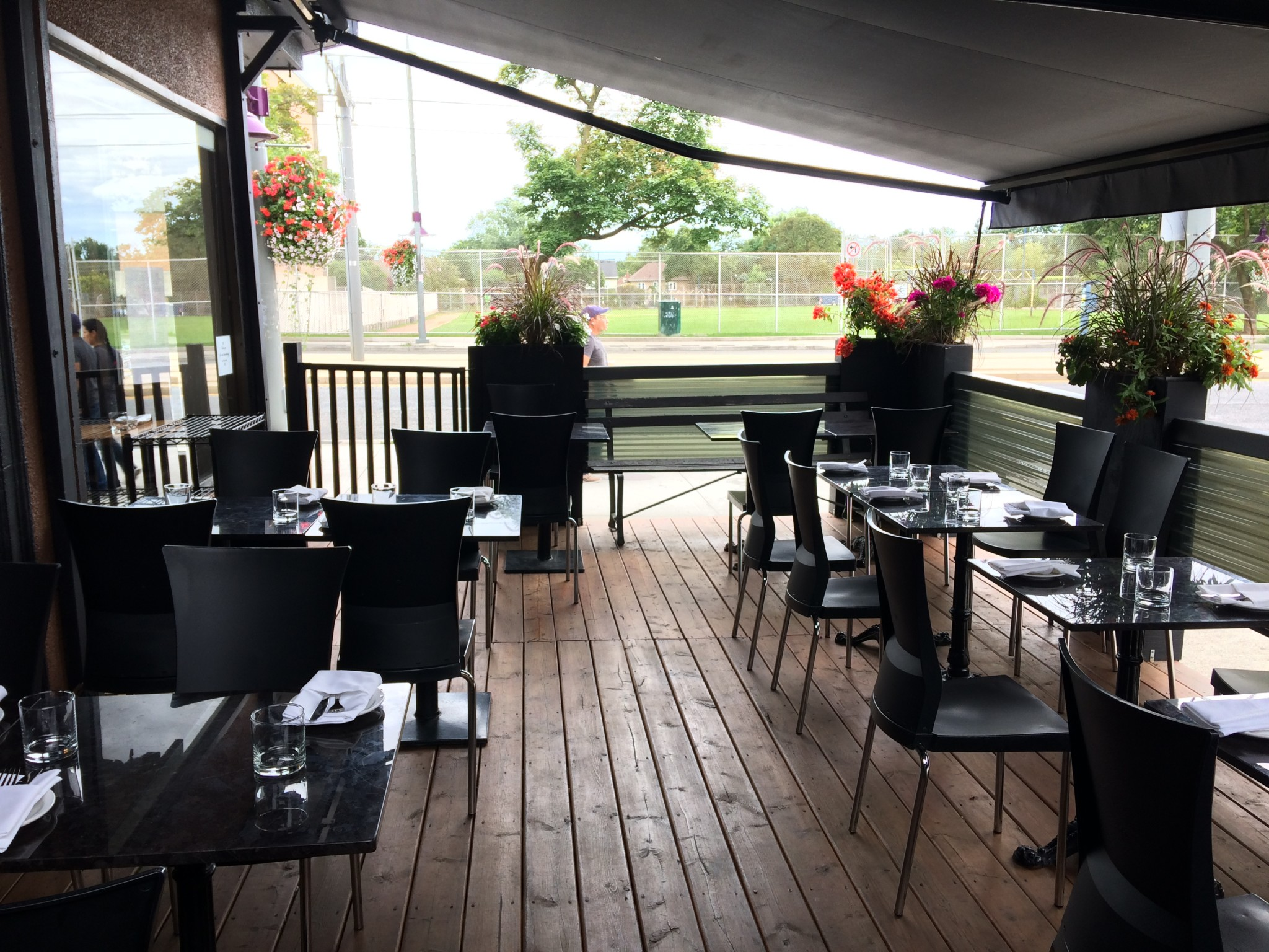 Our PATIO is now OPEN  for dine in and we also offer take out every night from 4pm-10pm.